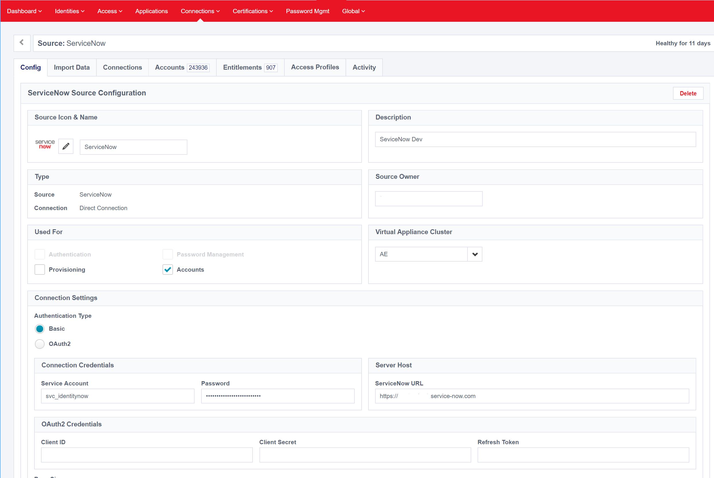 SailPoint IdentityNow to ServiceNow Ticketing Integration - Kloud Blog